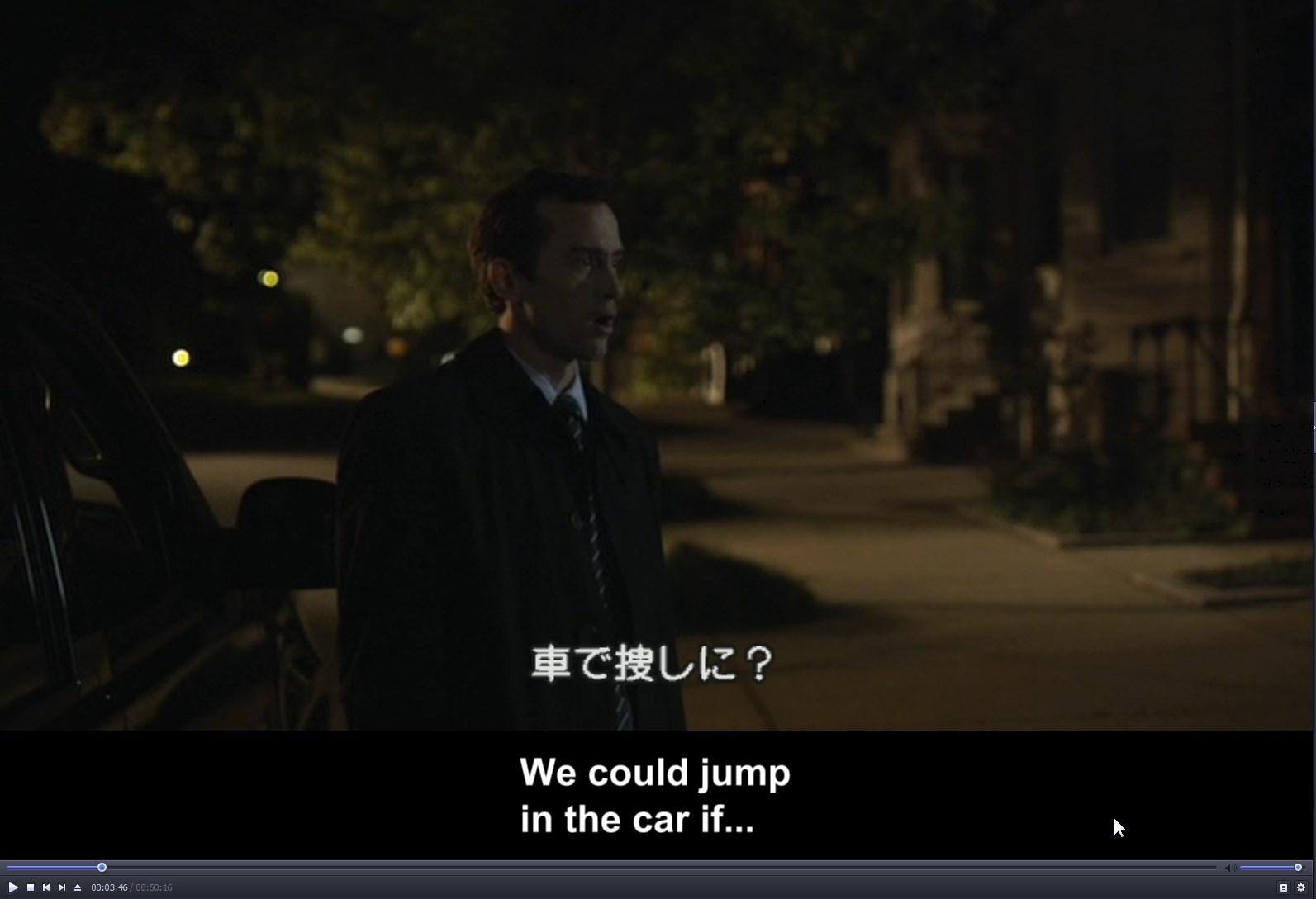 ハウスオブカード、シーズン2の英語字幕