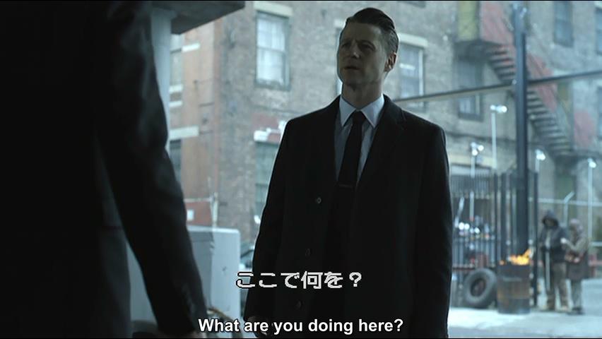 「ゴッサム」シーズン4、12話より(next to nothingとmiss)